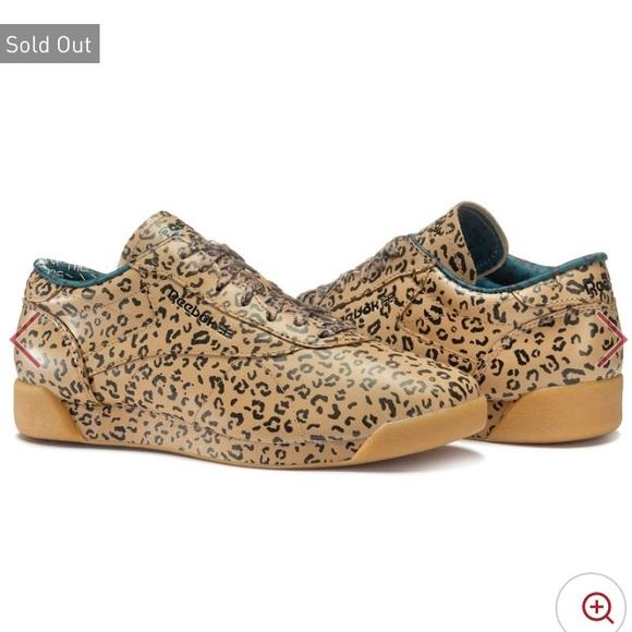 28d25e615 Reebok Shoes | X Melody Ehsani Freestyle Lo Leopard | Poshmark